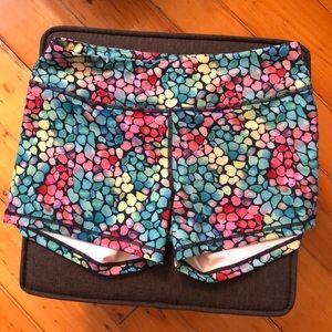Born Primitive Double Take Booty Shorts - Mosaic